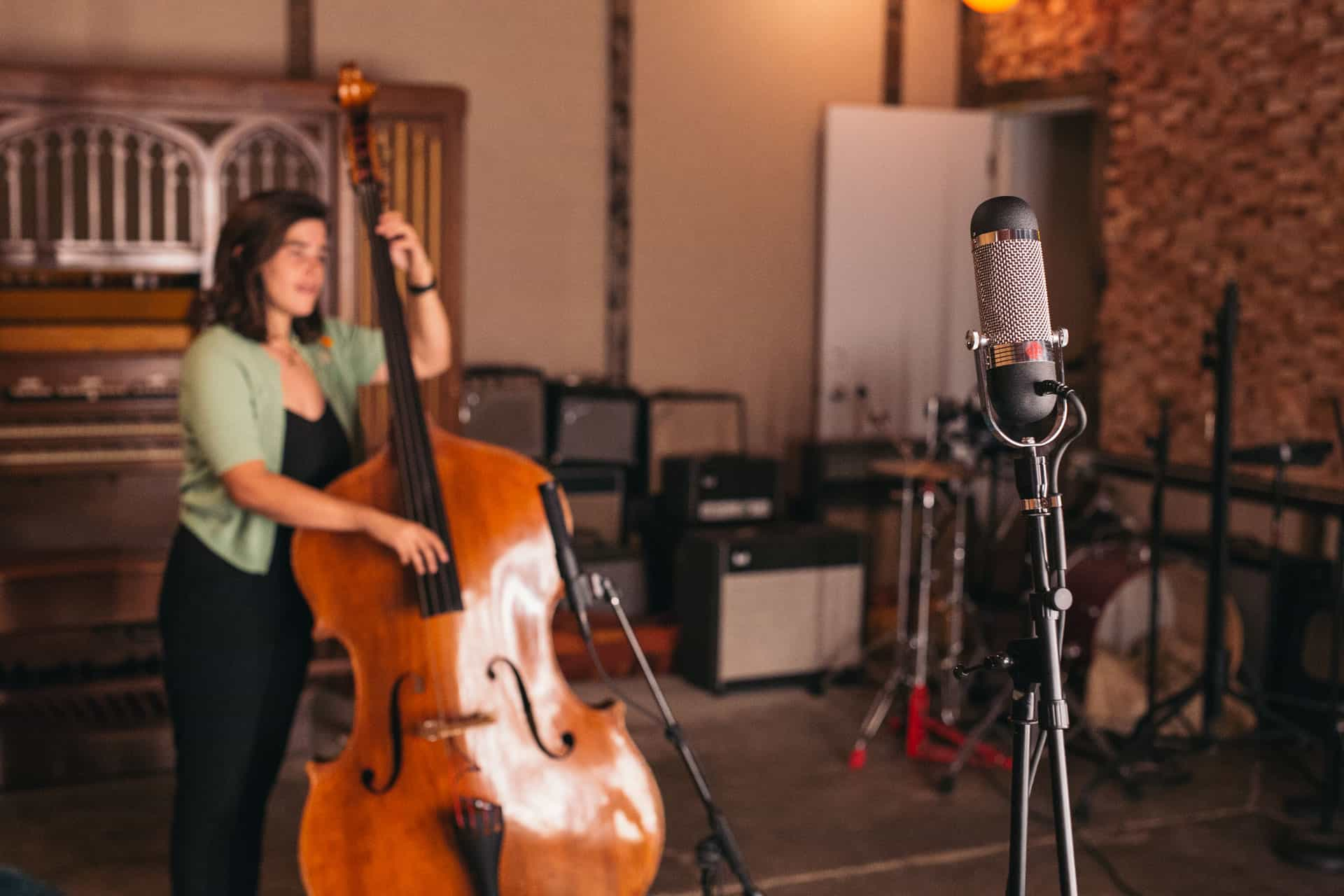 how to record double bass with the r84 aea ribbon mics preamps. Black Bedroom Furniture Sets. Home Design Ideas